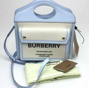 Burberry Mini Horseferry Logo  Pocket Bag
